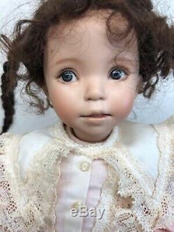 10.5 Porcelain Artist Doll Hand Painted Dianna Effner Artist Sample 2002