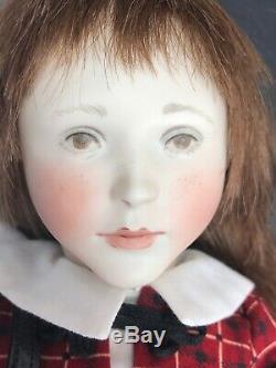 15 Rare Artist Porcelain Hand Painted BJ Doll Gigi Lynne & Micheal Roche Mint