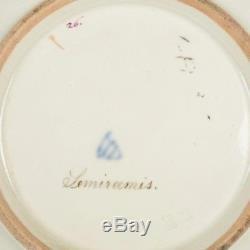 19th C. Vienna Handpainted Porcelain Cabinet Plate Semiramis