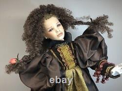 20 Artist Porcelain Doll By Uta Brauser Hand Painted Beautiful Renaissance #Sa