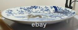 A Stunning Rare Very Large Meiji Period Handpainted Imari Porcelain Charger