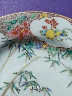 A good 18th century chinese antique porcelain plate yongzheng period 1735