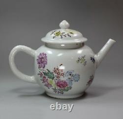 Antique Chinese teapot decorated in London, Qianlong (1736-95)