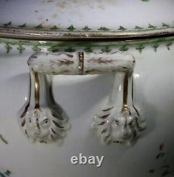 Antique Large Chinese European Export Tureen & Cover