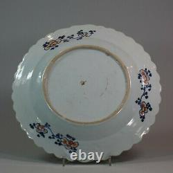 Chinese famille rose tobacco leaf platter, Qianlong (1736-95)