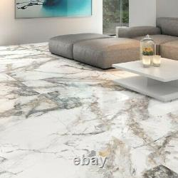 Fantasia Invisible Marble Gloss Porcelain Tile 600 x 1200mm PALLET DEAL JOB LOT