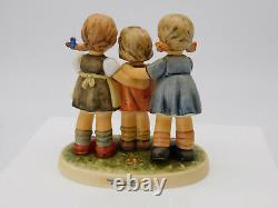 Goebel Hummel Bashful Serenade Three Girls # 2133 Scape # 1064-D Music Box