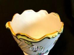 Herend Porcelain Handpainted Queen Victoria Cachepot 7227/vbo
