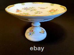 Herend Porcelain Handpainted Queen Victoria Cake Stand 311/vbo New