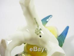 Karl Ens Popinjay Parrot Bird 6, Vintage Handpainted Porcelain Figurine