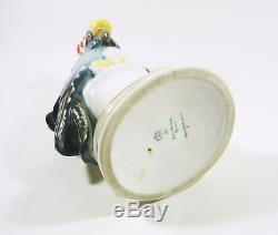 Karl Ens Volkstedt Blue Parrot Bird 11, Vintage Handpainted Porcelain Figurine