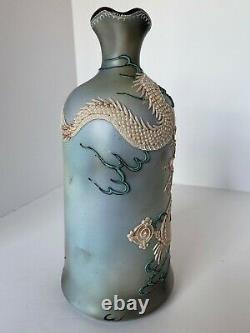 Large Hand Painted Nippon Moriage Dragon Jug