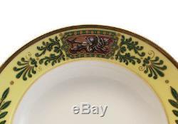 Manufacture de Sevres Hand Painted Porcelain Rimmed Soup Bowl, 1828
