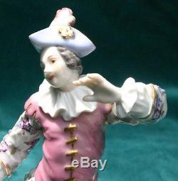 Meissen 19C German Hand Painted Porcelain Figurine VERY RARE