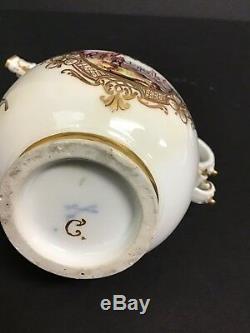 Meissen Porcelain Handpainted Teapot