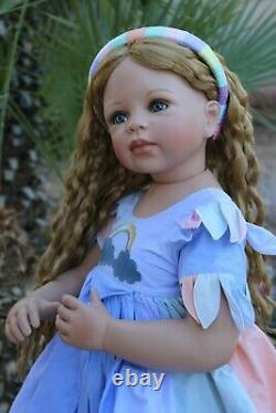 Monika Levenig 30 Porcelain & Cloth Doll RAINBOW Masterpiece LTD 302/350 NIB