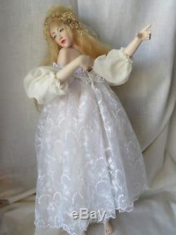Monika Mechling Hand Painted Porcelain Artist Doll Patience LE STUNNING