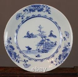Nanking Chinese Shipwreck Porcelain Cargo Leaping Boy Dish c1750