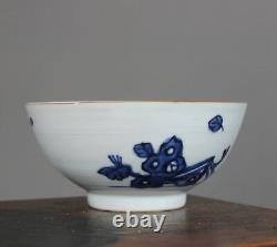 Nanking Chinese Shipwreck Porcelain Cargo Peony Rock Pattern Bowl c1750
