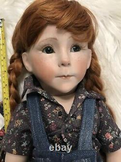 Porcelain Doll Hand Made Hand Painted Unique And Rare