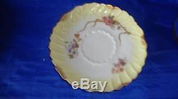 RARE Antique Latrille Freres Limoges Hand Painted Porcelain Tea Set c1899