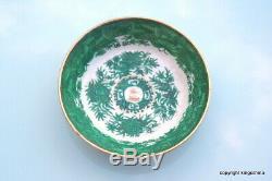 RARE Chinese GREEN FITZHUGH Armorial SACKVILLE SAUCER MANDARIN export vase