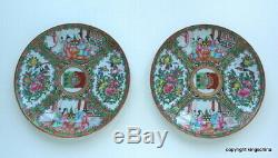 RARE PAIR Chinese Armorial PORTUGUESE FLAG Porcelain PLATE 19thc export vase