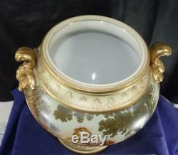 Rare Paris Francois Boucher Porcelain / Sevres Hand Painted Covered Urn