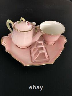 Royal winton breakfast set, Petunia, 6 Pieces Hand painted
