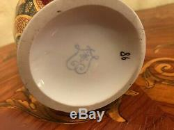 Vintage Royal Vienna style Victorian Handpainted Porcelain Vase