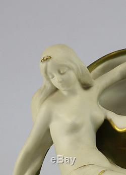 Wahliss, Ernest (Austrian, 1836 1950) Amphora Hand Painted Porcelain Vase